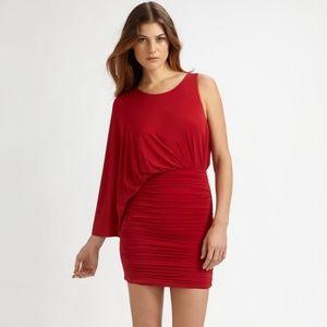 BCBG Venus Cocktail Dress, New Red, XXS